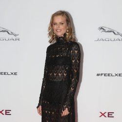 Eva Herzigova en una fiesta de Jaguar en Londres