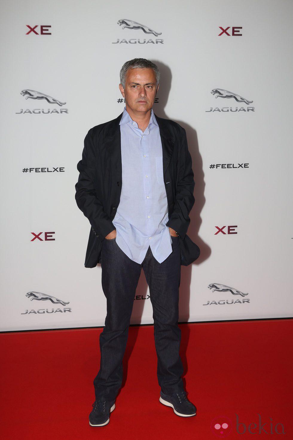 Jose Mourinho en una fiesta de Jaguar en Londres