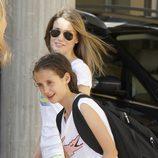 La Reina Letizia con su sobrina Victoria de Marichalar