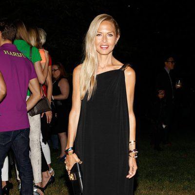 Rachel Zoe en el desfile de Ralph Lauren en la Semana de la Moda de Nueva York Primavera/Verano 2015