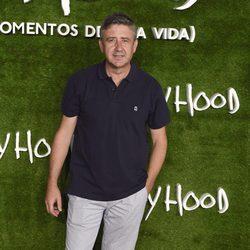 Ramón Arangüena en el estreno de 'Boyhood (Momentos de una vida)' en Madrid