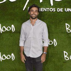 Diego Osorio en el estreno de 'Boyhood (Momentos de una vida)' en Madrid