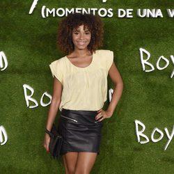 Montse Plá en el estreno de 'Boyhood (Momentos de una vida)' en Madrid