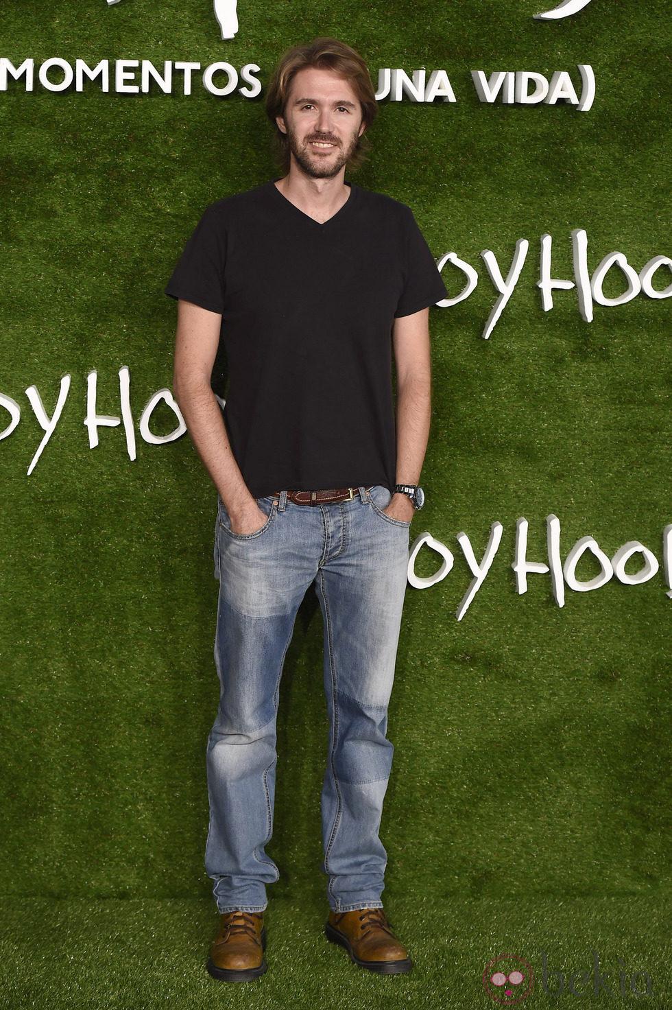 Manuel Velasco en el estreno de 'Boyhood (Momentos de una vida)' en Madrid