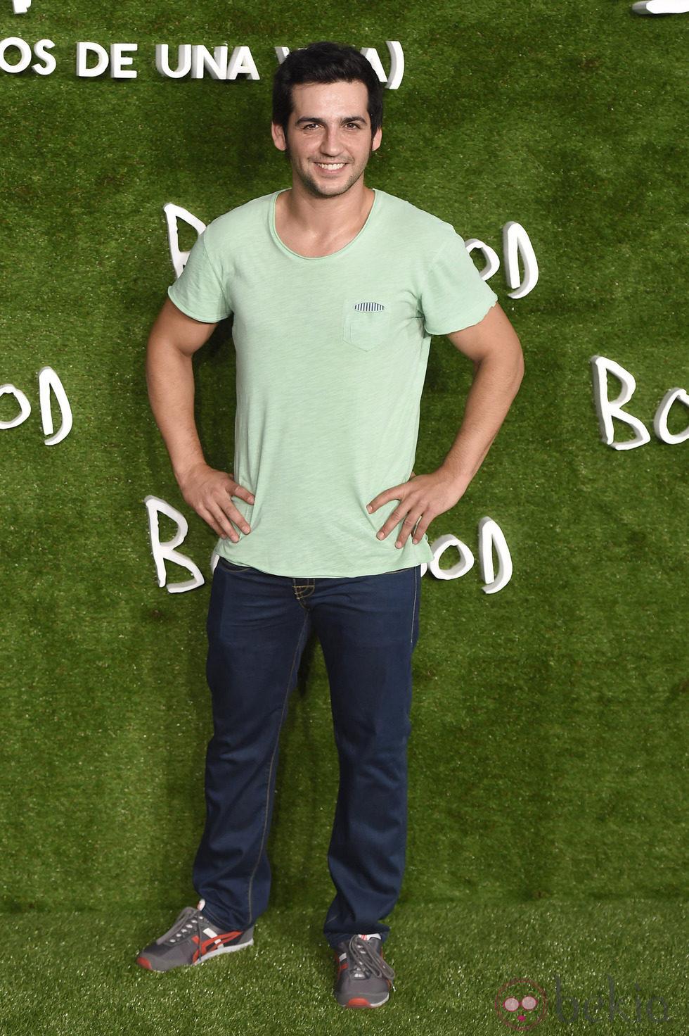 Fran Perea en el estreno de 'Boyhood (Momentos de una vida)' en Madrid