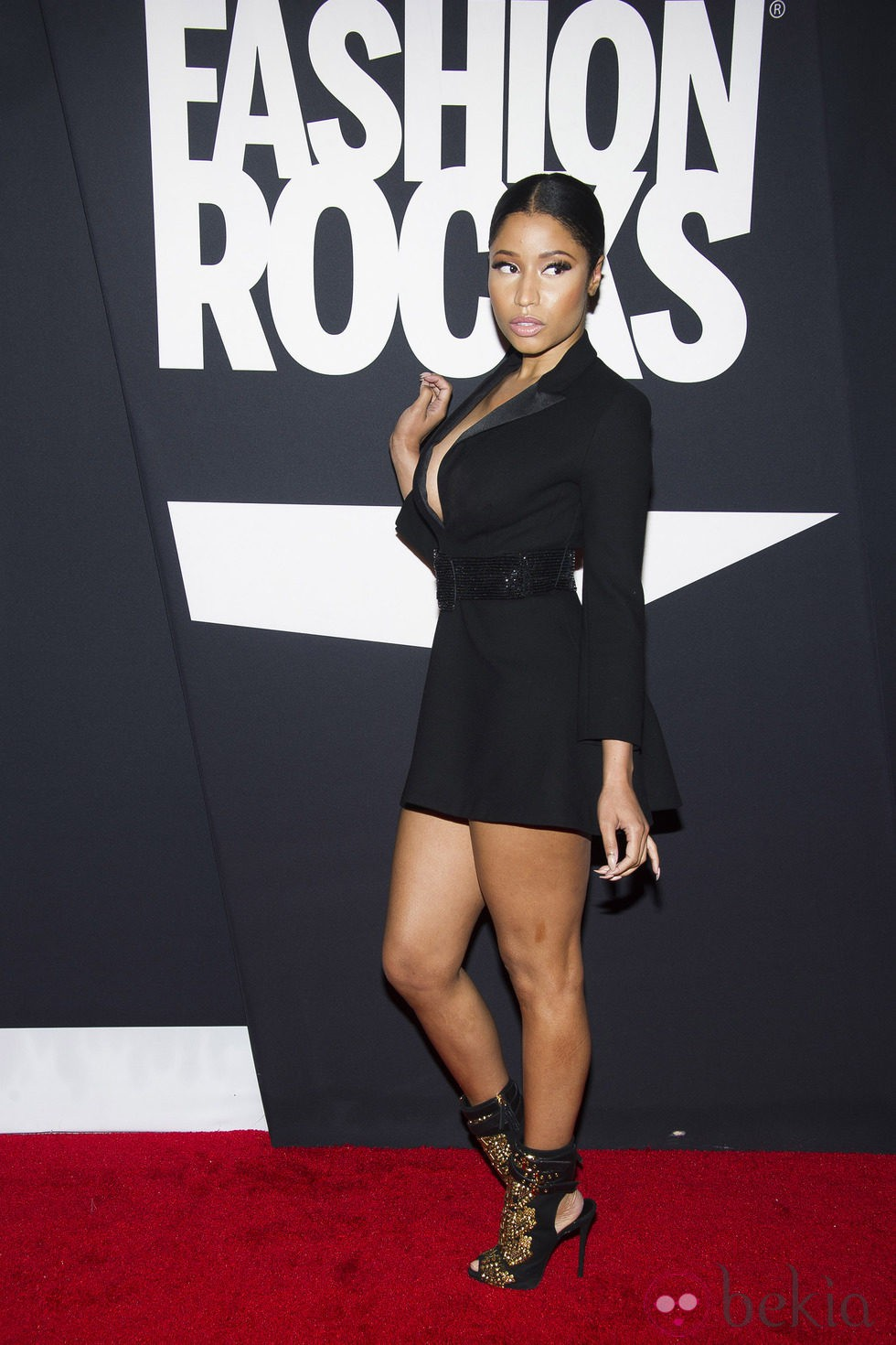 Nicki Minaj en la gala Fashion Rocks 2014