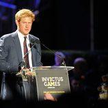 El Príncipe Harry en la inauguración de los Invictus Games