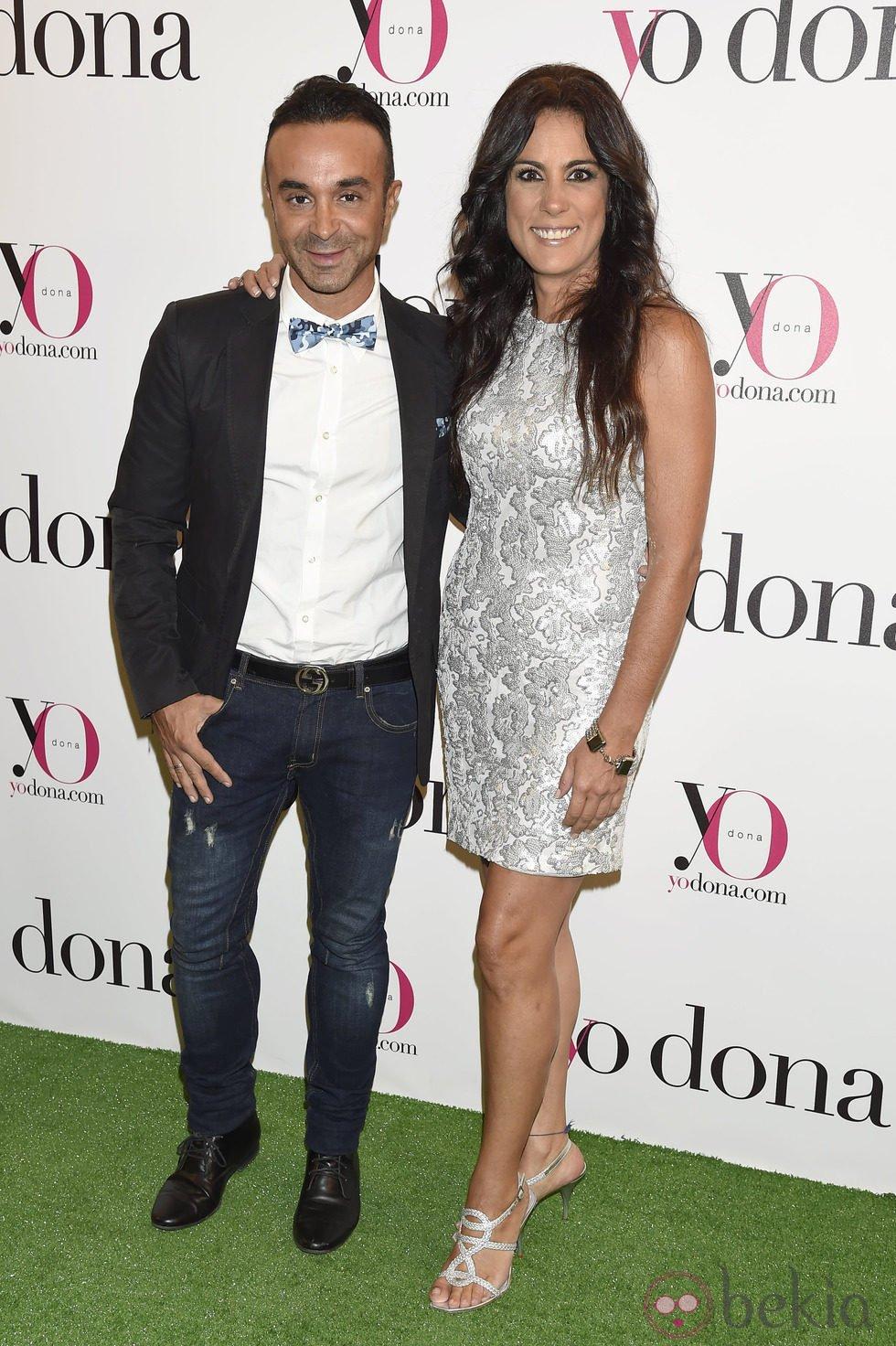 Luis Rollán y Alicia Senovilla en una fiesta organizada por Yo Dona en Madrid