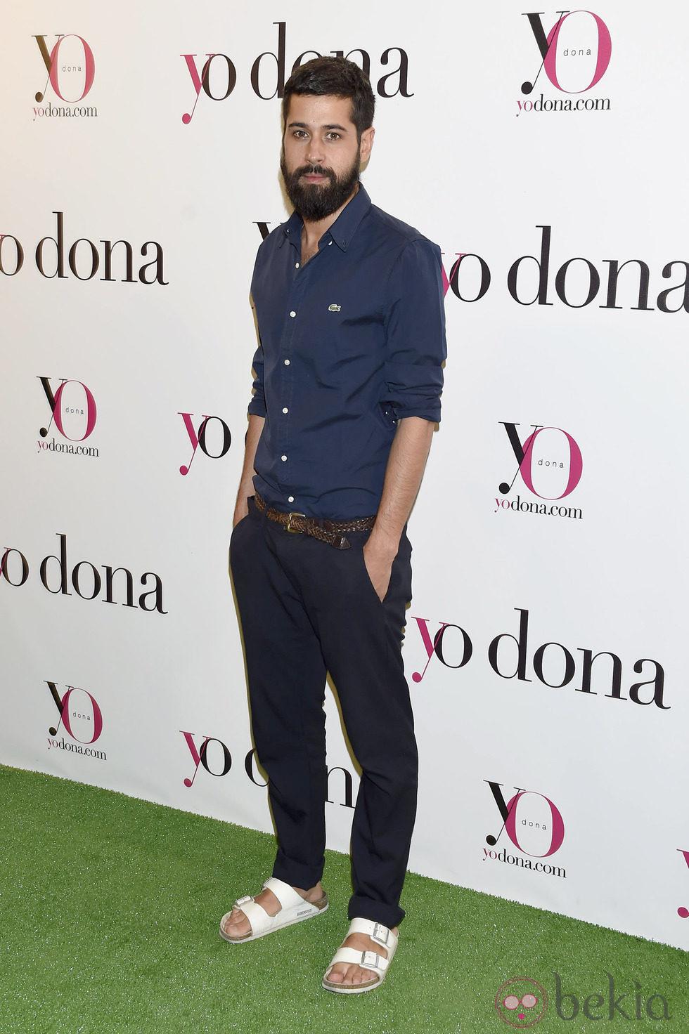 Moisés Nieto en una fiesta organizada por Yo Dona en Madrid