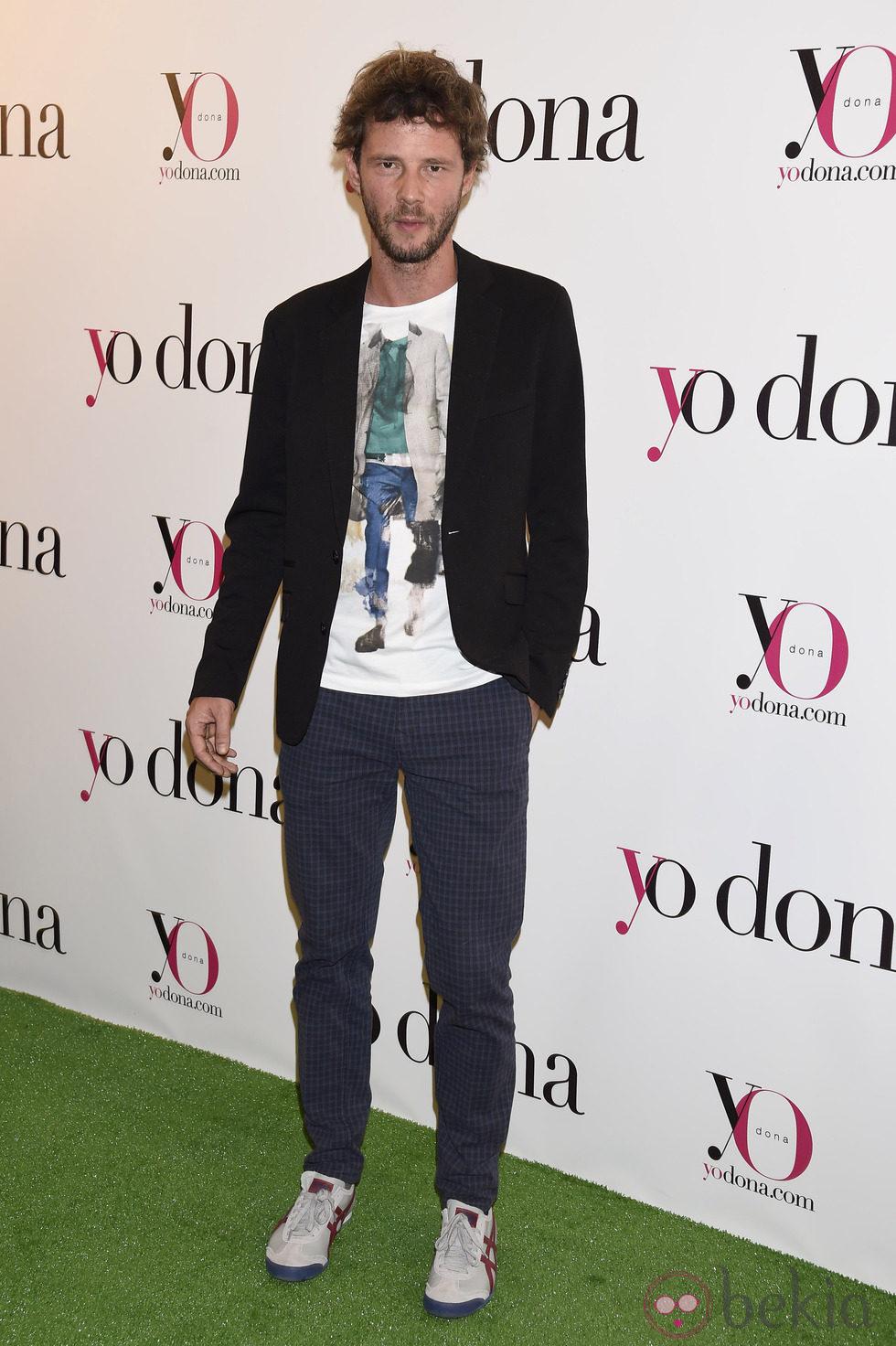 Eloy Azorín en una fiesta organizada por Yo Dona en Madrid