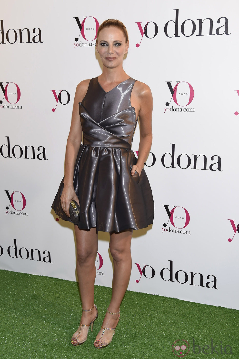 Paula Vázquez en una fiesta organizada por Yo Dona en Madrid