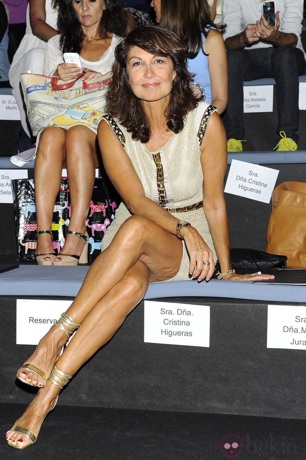 Anterior Cristina HIgueras en el desfile de Roberto Verino en Madrid Fashion Week primavera/verano 2015