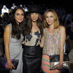 Alicia Sanz, Juana Acosta y Marta Hazas en el desfile de Ana Locking en Madrid Fashion Week primavera/verano 2015