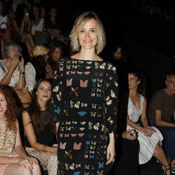 Laura Pamplona en el desfile de Ailanto en Madrid Fashion Week primavera/verano 2015