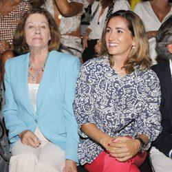 Natalia Figueroa y Alejandra Martos en el desfile de Roberto Torretta en Madrid Fashion Week primavera/verano 2015