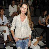 Amelia Bono en el desfile de Alvarno en Madrid Fashion Week primavera/verano 2015