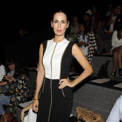 Lola Marceli en el desfile de Alvarno en Madrid Fashion Week primavera/verano 2015