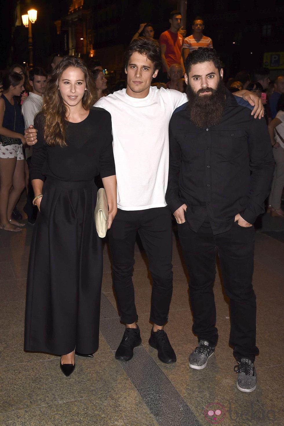 Martin Rivas e Irene Escolar en la presentación de la nueva colección del diseñador Riccardo Tisci