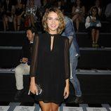 Andrea Guasch en el desfile de Dolores Cortés en Madrid Fashion Week primavera/verano 2014