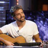 Pablo Alborán presentando 'Por fin' en 'El hormiguero'