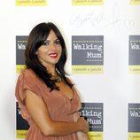 Raquel del Rosario en su primer acto público tras ser madre