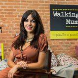 Raquel del Rosario, sonriente y feliz en su primer acto público tras tener a su hijo Leo