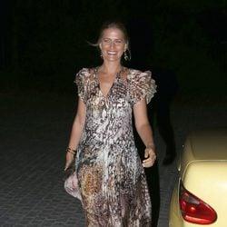 Tatiana de Grecia en la celebración de las Bodas de Oro de los Reyes de Grecia