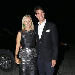Pablo y Marie Chantal de Grecia en la celebración de las Bodas de Oro de los Reyes de Grecia