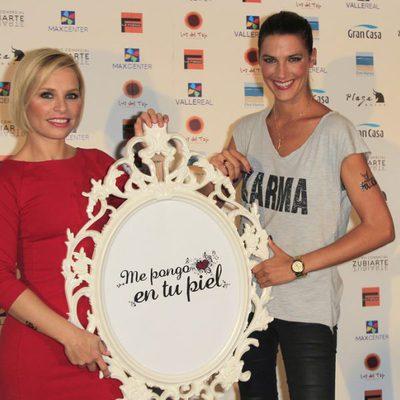 Soraya Arnelas y Laura Sánchez presentan la campaña 'Me pongo en tu piel'