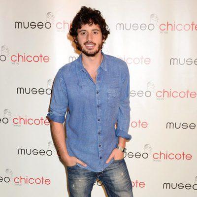 Javier Pereira en una fiesta organizada por Museo Chicote