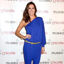 Verónica Hidalgo en una fiesta organizada por Museo Chicote