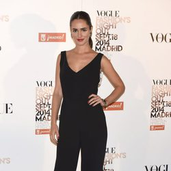 Alicia Sanz en la Vogue Fashion's Night Out Madrid 2014