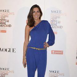 Verónica Hidalgo en la Vogue Fashion's Night Out Madrid 2014