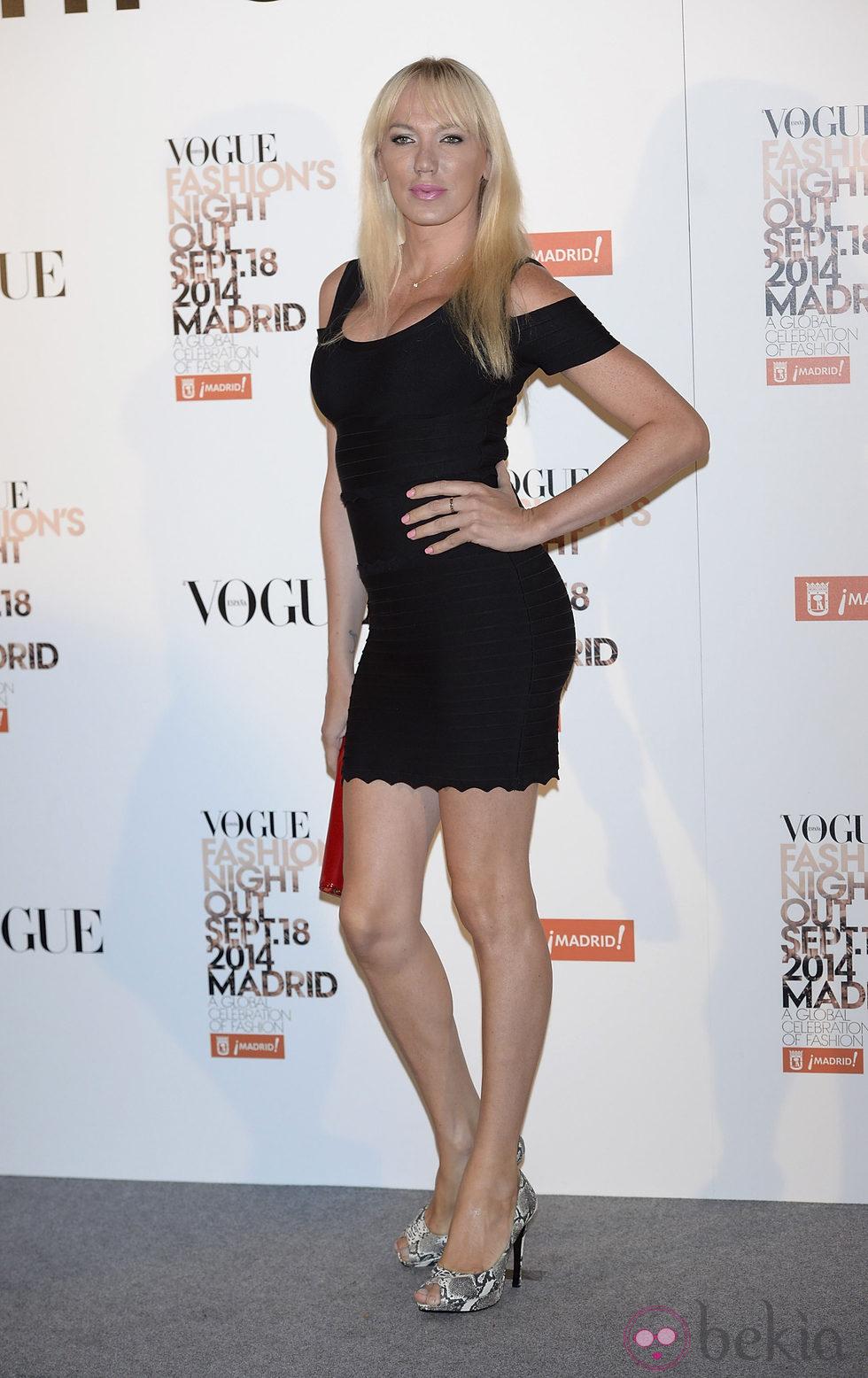 Anterior Topacio Fresh En La Vogue Fashions Night Out Madrid