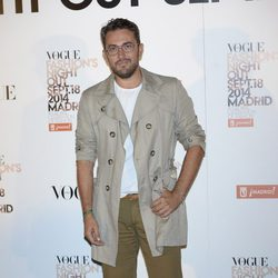 Màxim Huerta en la Vogue Fashion's Night Out Madrid 2014