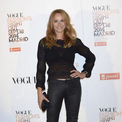 Mar Regueras en la Vogue Fashion's Night Out Madrid 2014