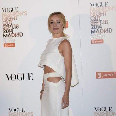 Ángela Cremonte en la Vogue Fashion's Night Out Madrid 2014