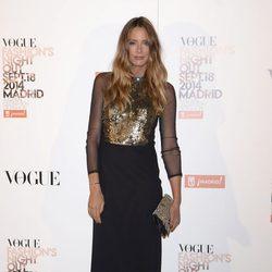 Estefanía Luyk en la Vogue Fashion's Night Out Madrid 2014