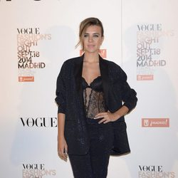 Andrea Guasch en la Vogue Fashion's Night Out Madrid 2014