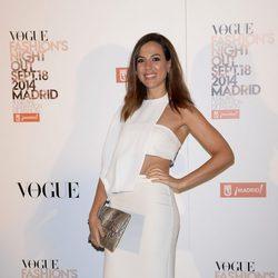 Alicia Rubio en la Vogue Fashion's Night Out Madrid 2014