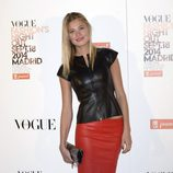Carla Pereyra en la Vogue Fashion's Night Out Madrid 2014