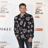 Álvaro Cervantes en la Vogue Fashion's Night Out Madrid 2014