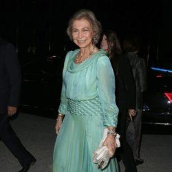 La Reina Sofía en las Bodas de Oro de los Reyes de Grecia