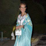 La Infanta Elena en las Bodas de Oro de los Reyes de Grecia