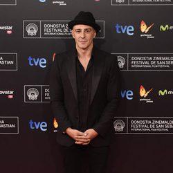 Roberto Álamo en la premiere de 'La isla mínima' en el Festival de San Sebastián 2014
