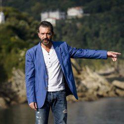 Antonio Banderas presenta 'Autómata' en el Festival de San Sebastián 2014