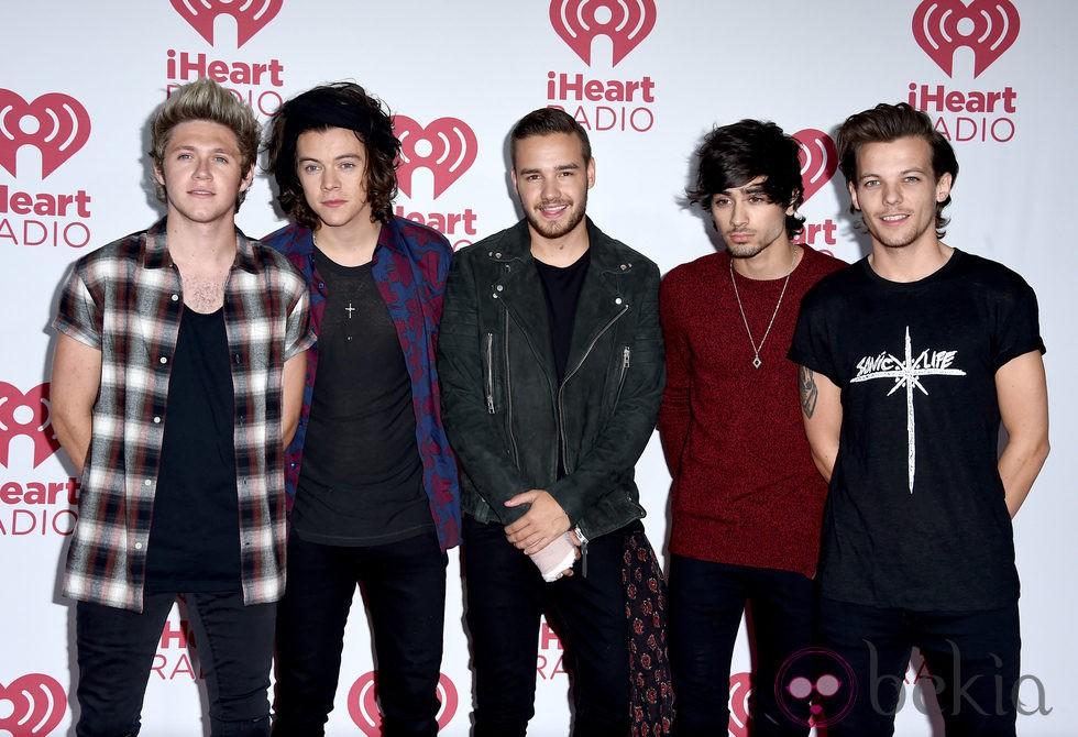 One Direction en el iHeartRadio Music Festival 2014
