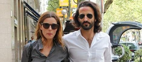 Raquel Sánchez Silva y Matías Dumont en la fiesta del 40 cumpleaños de Fiona Ferrer