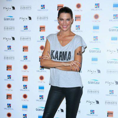 Laura Sánchez en la presentación de la campaña 'Me pongo en tu piel'