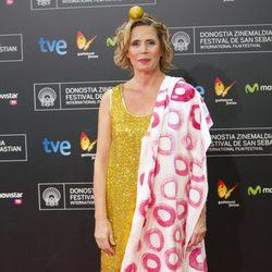 Ágatha Ruiz de la Prada en el estreno de 'Casanova Variations' en el Festival de San Sebastián 2014